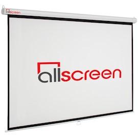 პროექტორის ეკრანი ALLSCREEN MANUAL PROJECTION SCREEN 200X200CM HD FABRIC CWP-8080 110 inch