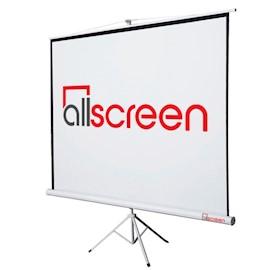 პროექტორის ეკრანი  ALLSCREEN TRIPOD PROJECTION SCREEN 160X160CM HD FABRIC 89 inch