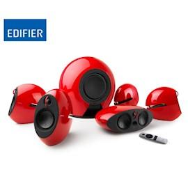 დინამიკი Edifier E255 Luna 5.1 Speakers RMS 16W × 5 (treble) + 20W × 5 (mid-range) SW: RMS 220W Bluetooth Optical Coaxial 3.5mm AUX