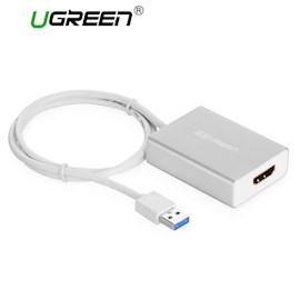 ადაპტერი UGREEN USB 3.0 to HDMI converter Silver 80CM USB TO HDMI 40229