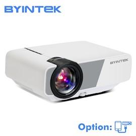 პროექტორი BYINTEK  k1 Plus  LED diode Portable home Theater HD mini projector (optional wired sync Display for Iphone Smart Android phone)