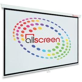პროექტორის ეკრანი ALLSCREEN MANUAL PROJECTION SCREEN 244X186CM 16:9 HD FABRIC CWP-244186 Diagonal 120 inch / 304 CM