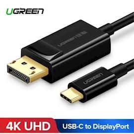 კაბელი UGREEN MM139 (50994) USB Type C to DP Cable 1.5m (Black)