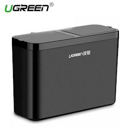 ნაგვის ბუნკერი მანქანისთვის UGREEN LP111 (30399) Car Dustbin (Black)