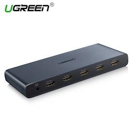 4 სხვადასხვა კადრი 1 ეკრანზე UGREEN CM201 (50745) HDMI 4x1 Quad Multi-Viewer
