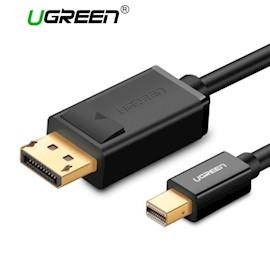 კაბელი UGREEN MD105 (10477) Mini DP to DP Cable 1.5m (Black)