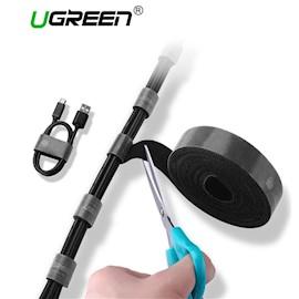 კაბელების მენეჯერი UGREEN LP124 (40354) Cable Organizer 2m (Black)