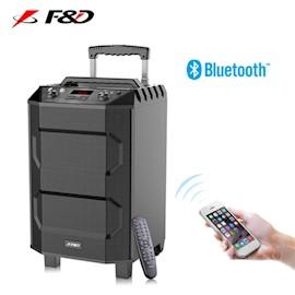 """კარაოკე დინამიკი Fenda F&D T5 Wireless Portable Bluetooth Speaker 4.2 ( RMS): 33W  10"""" subwoofer  (black)"""