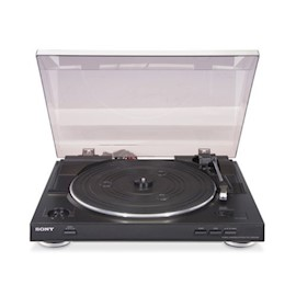 SONY TURNTABLE PS-LX300USB USB STEREO TURNTABLE (USB OUTPUT FOR QUICK, EASY VINYL-TO-MP3 CONVERSION;SPEEDS: 33 13 AND 45 RPM)