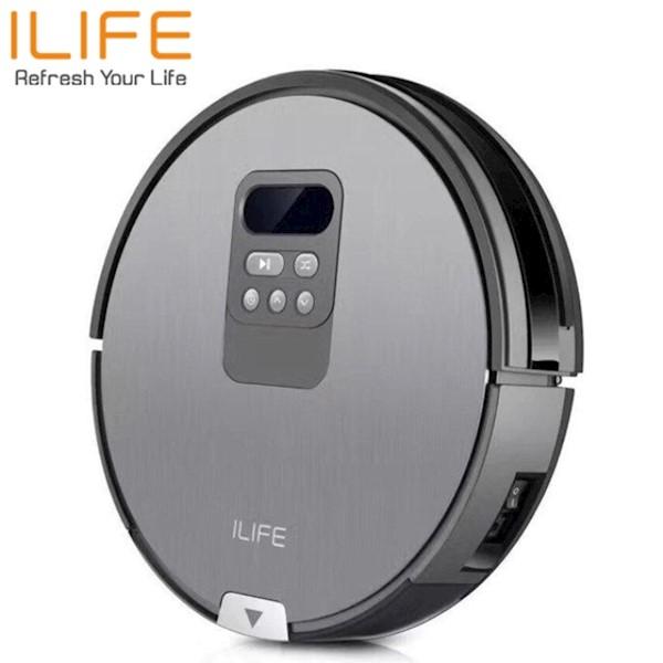 რობოტი მტვერსასრუტი მშრალი და სველი წმენდით ILIFE V80 Vacuuming & mopping robot vacuum i-Dropping Automated operation Self-charging