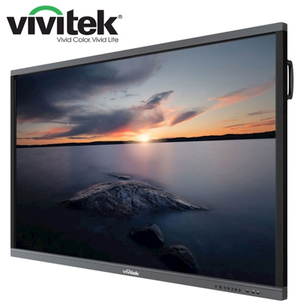 "ინტერაქტიული ეკრანი, სმარტ ეკრანი Vivitek NovoTouch LK6530i Interactive Flat Panel Display Native Resolution 4K UHD 3840 x 2160 Panel Size; 65"", 16:9 Contrast Ratio 1,200:1; 16:9; AndroidTM v6.0 4GB / 16GB; Speaker 12W (x2)"