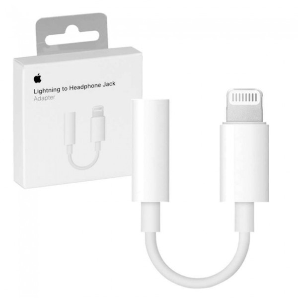 გადამყვანი Apple Iphone LIGHTNING TO 3.5 MM HEADPHONE JACK ADAPTER MODEL A1749 (MMX62ZMA)