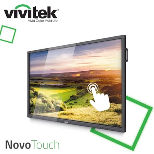 "ინტერაქტიული ეკრანი, სმარტ ეკრანი Vivitek NovoTouch LK7530i Interactive Flat Panel Display Native Resolution 4K UHD 3840 x 2160 Panel Size; 75"", 16:9 Contrast Ratio 1,200:1; 16:9; AndroidTM v6.0 4GB / 16GB; Speaker 12W (x2)"