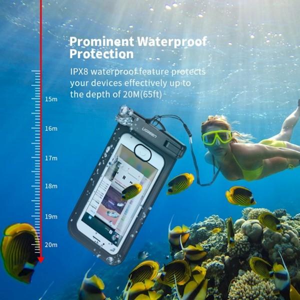 მობილურის წყალგაუმტარი ქეისი UGREEN 50919 Waterproof Case for Phone