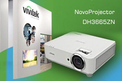 VIVITEK -ის ახალი უკაბელო ლაზერული პროექტორი DH3665ZN