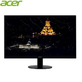 მონიტორი Acer Display 60cm 23.8 W SA240YAbi  Ultra Thin ZeroFrame IPS 4ms Resolution 1920 x 1080 16:9 178° 75 Hz 250 cd m VGA HDMI Black Matt Glossy foot