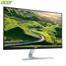 """მონიტორი ACER Acer Display 69cm 27"""" W RT270bmid Ultra Thin ZeroFrame IPS 1ms Resolution 1920 1080 16:9 178° 178° 75 80Hz 250 cd m VGA DVI HDMI Audio In Out 2Wx2 VESA Mount GAMING Dark Black Boost"""