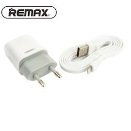 მობილურის დამტენი REMAX Traveller series 2.4A Data Cable Charger RP-U14i white