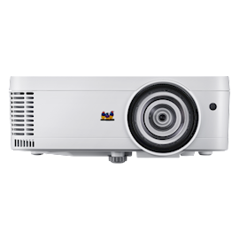 VIEWSONIC PS501XXGA (1024X768), 3400 LUMENS, 22000:1 CONTRAST, EXCLUSIVE SUPERCOLOR TECHNOLOGY, 0.6 SHORT THROW RATIO, 32DB27DB NOISE LEVEL, 2W SPEAKER, 3D COMPATIBLE, 1X HDMI, 2X VGA IN, 1X VGA OUT