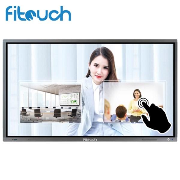 ინტერაქტიული ეკრანი, სმარტ ეკრანი Fitouch TVI75H8A Interactive flat panel Diagonal 75inch Brightness 350cd/㎡ Resolution 3840(H) X 2160(V) RJ45 Android