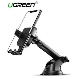 ტელეფონის სამაგრი მანქანისთვის UGREEN LP200 (60990) Gravity Phone Holder with Suction Cup Black