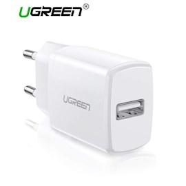 მობილურის დამტენი UGREEN ED011 (50460) USB 5V 2.1A Wall Charger One ports WHITE