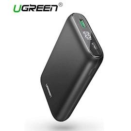 პორტატული დამტენი UGREEN PB137 (70399) 10000mAh PD 18W Power Bank mini mobile power (digital display) black