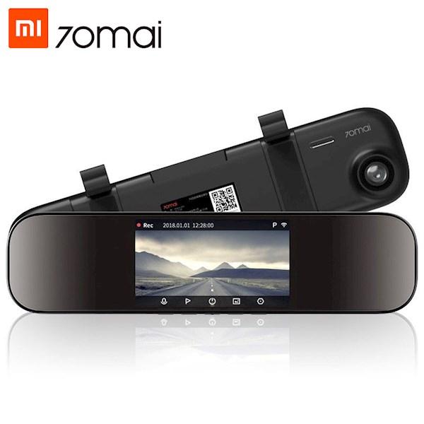მანქანის ვიდეო რეგისტრატორი Xiaomi 70Mai Rearview Mirror Dash Cam Midriver D04 Xiaomi SONY IMX335 Car DVR 1600P Recorder 24H Parking Monitor ADAS WiFi APP