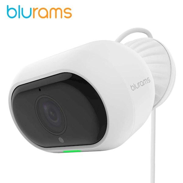გარე ვიდეო სათვალთვალო კამერა Blurams A21C Outdoor Pro Security Camera System 1080p FHD Outside Night Vision Facial Recognition Weatherproof Works with Alexa