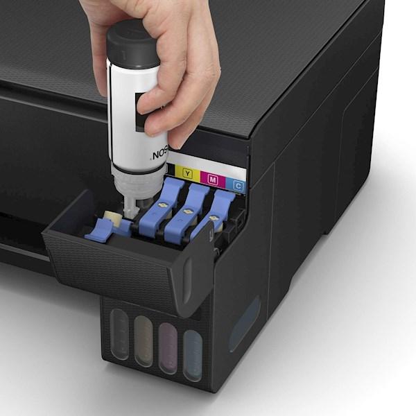 პრინტერი Epson EcoTank L3150 Wi-Fi All-in-One Print Scan Copy Print resolution 5760 x 1440 Ink Tank Printer (Black)