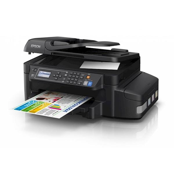 პრინტერი EPSON L566 (C11CE53403) Printer-scanner-copier-fax with Wi-Fi and Ethernet connectivity