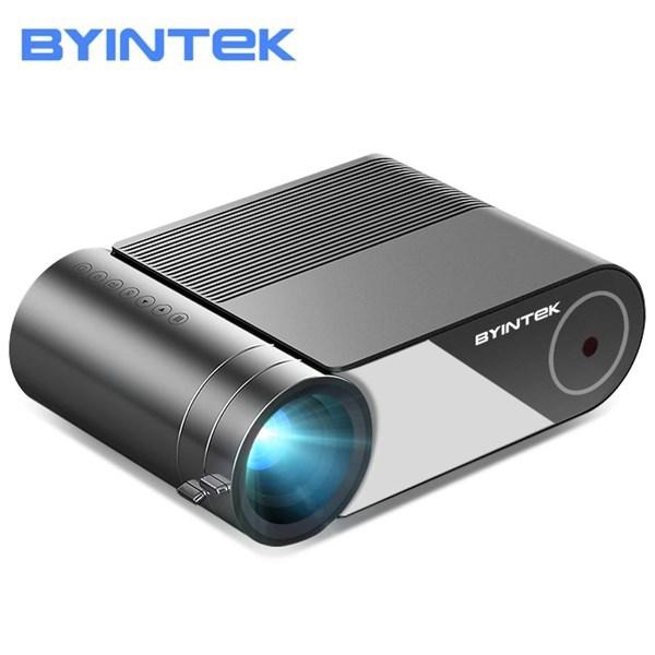 პროექტორი BYINTEK SKY K9 Projector 720*1080 250 Lumens LED Projector Mini Home Theater HD Mini Projector