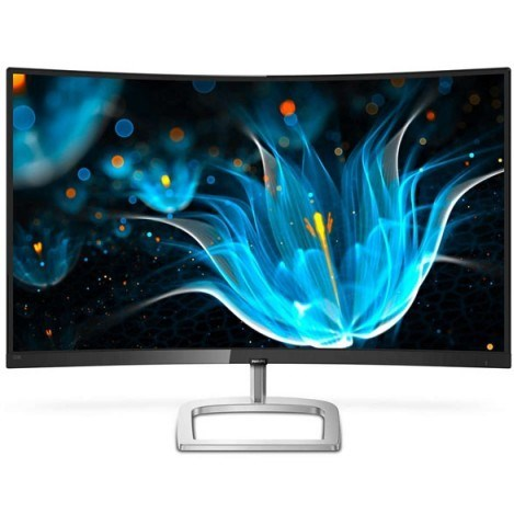 "მონიტორი Philips 328E9QJAB/00 31.5"" FHD VA Curved 4ms 3000:1 VGA HDMI DisplayPort Black"
