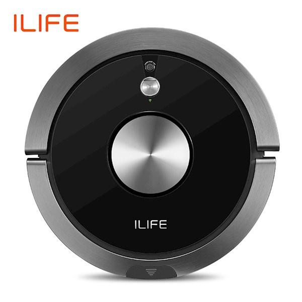 რობოტი მტვერსასრუტი სველი წმენდით ILIFE A9s Robot Vacuum Cleaner Vacuuming & Wibrating Mopping Smart APP Remote Control Camera Navigation