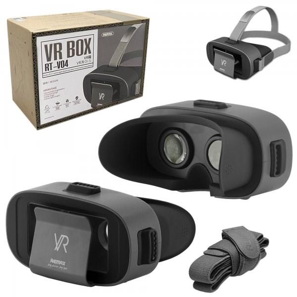 ვირტუალური სათვალე Remax VR BOX RT-V04 Black