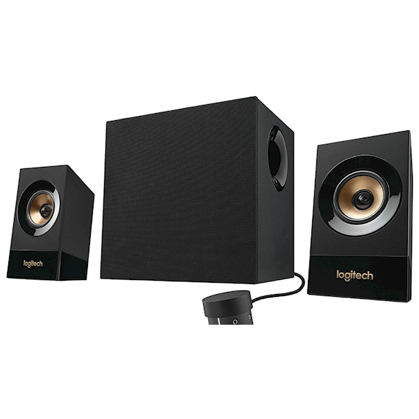 დინამიკი LOGITECH Audio System 2.1 Z533 EU Black