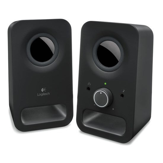 დინამიკი LOGITECH Audio System 2.0 Z150 EU Midnight Black