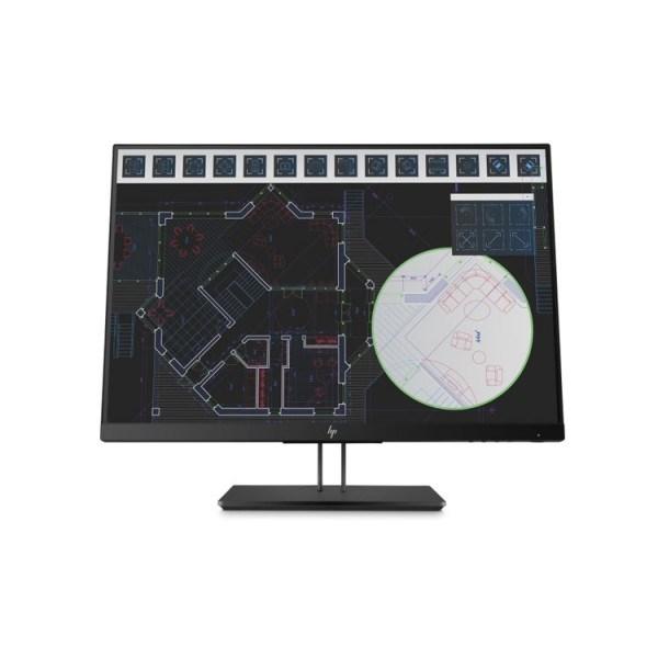 """მონიტორი: HP Z24n G2 24"""" FHD IPS 5ms DVI-D HDMI DP USB Black - 1JS09A4"""