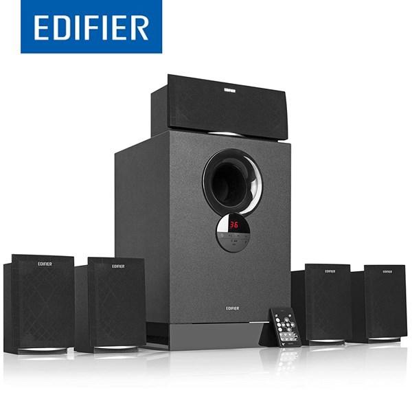სტუდიური დინამიკი Edifier R501BT Versatile 5.1 Speaker System with Bluetooth v4.0 93 Watts