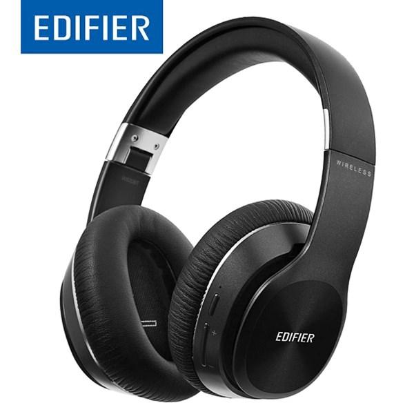უკაბელო ყურსასმენები Edifier W820BT Bluetooth Headphones - Foldable Wireless Headphone with 80-Hour Long Battery Life - Black