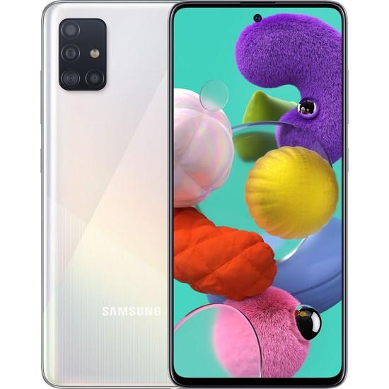 მობილური ტელეფონი Samsung A515F Galaxy A51 (6GB/128GB) LTE Duos White