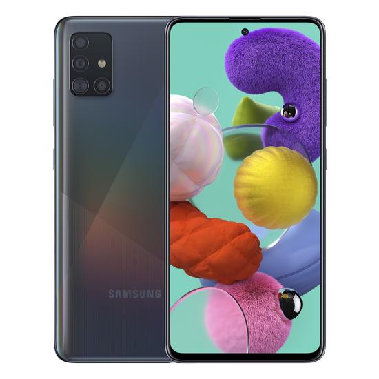 მობილური ტელეფონი Samsung A515F Galaxy A51 (4GB/64GB) LTE Duos Black