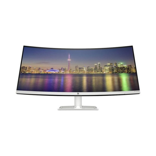 "მონიტორი: HP 34f Curved 34"" WQHD IPS 5ms HDMI Mini DP Silver - 6JM50AA"