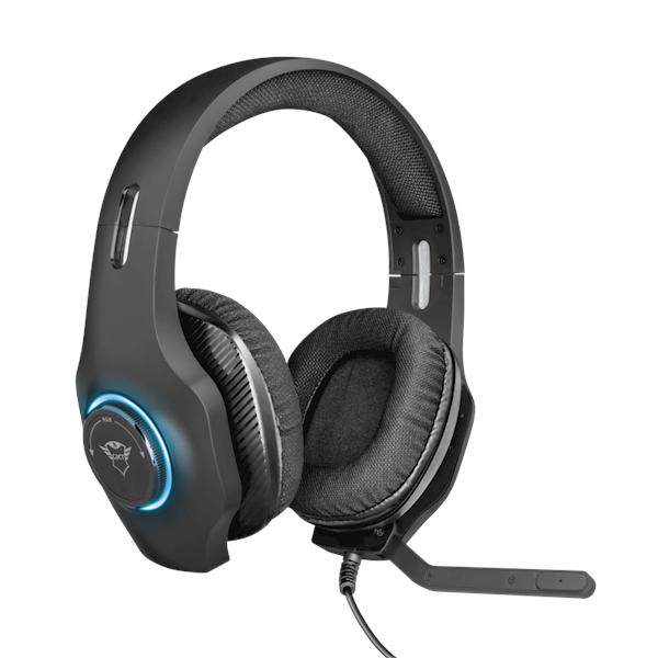 ყურსასმენი Trust GXT 455 Torus RGB Gaming Headset