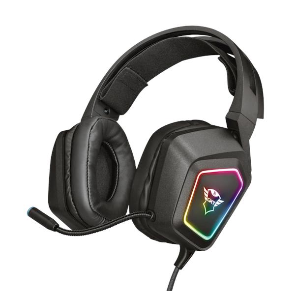 ყურსასმენი Trust GXT 450 Blizz RGB 7.1 Surround Gaming Headset