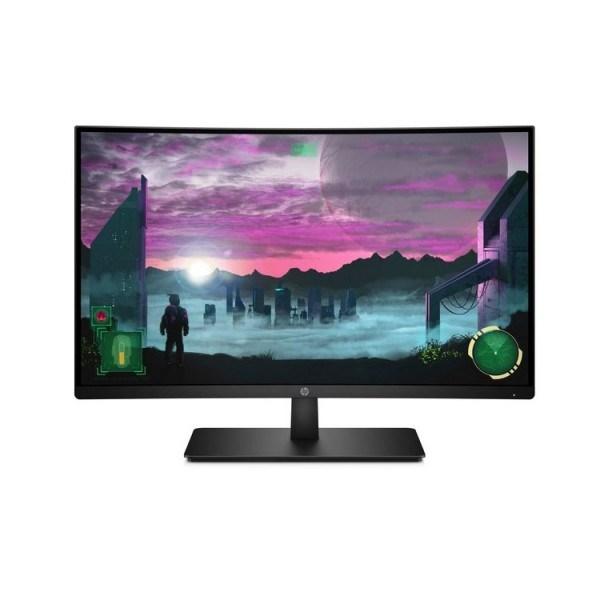 """მონიტორი: HP 27x Curved Gaming 27"""" FHD VA 5ms HDMI DisplayPort Black - 7MW42AA"""