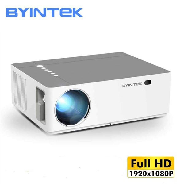 პროექტორი BYINTEK K20 Android  Full HD 1920x1080 15000: 1 Bluetooth 4.0 WiFi: 2.4GWiFi 500 ANSI lumens For Home Theater Cinema