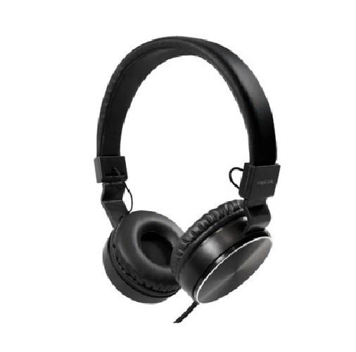 ყურსასმენი Logilink HS0049BK On-Ear Headphone , black
