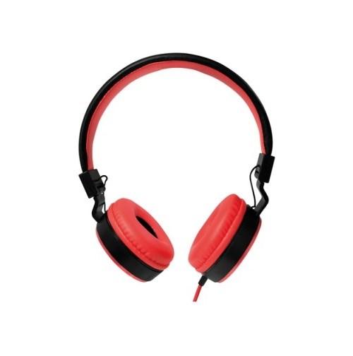 ყურსასმენი Logilink HS0049RD On-Ear Headphone red