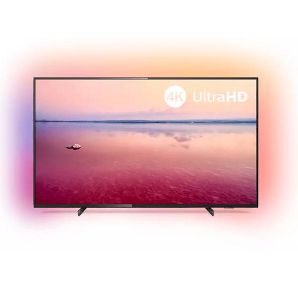 ტელვიზორი Philips 50' Ambilight3 1200 Hz  / UHD  / DVB-T2/S2 55PUS6704/60